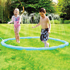 Water Sprinkler for Kids Sprinkler Pad & Splash Play Mat Water Toys 68 Inch New-