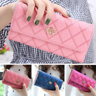 Fashion Lady Women Leather Clutch Wallet Long Card Holder Case Purse Handbag Hot image