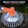 More images of Break-Proof Wired Round Edge Weed Trimmer Blade (50% Off Today Only)