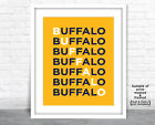 BUFFALO SABRES Photo Poster NHL Fan Picture HOCKEY Letter Art Print 8x10 11x14 $6.95 USD on eBay