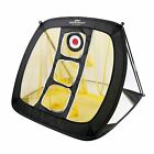 Square Pop Up Golf Chipping Net  Indoor-Outdoor Golfing Target Net for Accuracy