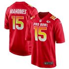 Kansas City Chiefs - Patrick Mahomes #15 Nike Red 2019 AFC Pro Bowl Game Jersey on eBay