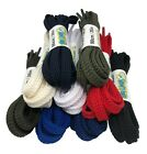 Flat Strong Shoelaces 7mm wide - 9 Colours - FREE 1st Class P&P!