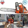 More images of Husqvarna Petrol Chainsaw Tree Surgery Prune Cutter 2 Stroke Heavy Duty 36cm Bar