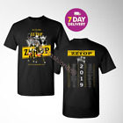 ZZ Top T Shirt 50th anniversary tour 2019 T-Shirt Size Men Black Gildan. image