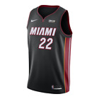 Miami Heat - Jimmy Butler #22 Nike Sponsor Patch Swingman Jersey Icon Edition on eBay