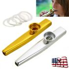 Kyпить Metal Kazoo Diaphragm Mouth Flute Harmonica Party Gift Musical Instrument Toy US на еВаy.соm