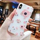 For Iphone X Fashion Flower Design Cute Case Cover Silicone For Women