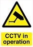 More images of CCTV IN OPERATION - SIGNS & STICKER SAFETY SECURITY CAMERA (small size)