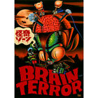 Brain Terror by Kurono Space Vampire Japanese Unframed Canvas or Paper Art Print