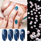 100/300PCS Flatback Pearls Nail Art Decorations Mixed Sizes 3D Nail Beads Tips