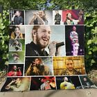 Post Malone Postsy Fleece Blanket 50x60; 60x80 Made In US image