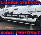 Dodge Ram Side Rocker Splatter Stripes 1500 Graphics Decals 3M Sticker 2009-2018