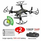 RC Drone Quadcopter With HD 5MP Camera WIFI 6-Axis Foldable Altitude Hold UK