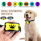 No Shock Anti Bark Dog Collar Pet Train Sound Vibration Stop Barking Waterproof