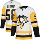 adidas Kris Letang Pittsburgh Penguins White Away Authentic Player Jersey