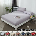 Mattress Protector Cover Elastic Waterproof Cotton Terry Bed Full Queen King image