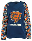 Zubaz NFL Women's Chicago Bears Camo Cowl Neck Hoodie $34.95 USD on eBay