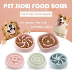 Feeding Pets Supplies Plastic Dog Bowl Slow Eating Bowls Puppy Feeder Food Dish