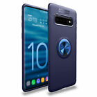 For Samsung Galaxy S9 S10 S8 Case Cover Back Rotatable Magnet Ring Holder Stand