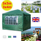 120g PE Gazebo 3x3m 3x4m 3x6m Outdoor Garden Marquee Tent Water-resistant Cover
