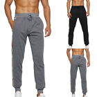 Men's Casual Solid Color Pants Joggers Sweatpants Fitness Sports Trousers New