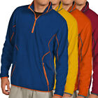 Antigua Golf Men's Ice 1/4-Zip Fleece Golf Pullover NEW