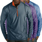 Antigua Golf Men's Tempo 1/4-Zip Heathered Golf Pullover,  New