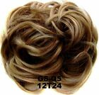 UK Womens Girls Messy Hair Scrunchie Natural Easy Bun Hair Piece Up Do Extension <br/> Thick Naturtal as Real Human Hair,UK Fast Delivery!!!