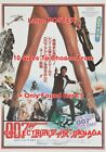 """FOR YOUR EYES ONLY 1981 James Bond 007 LEGS = MOVIE POSTER 10 Sizes 18"""" - 5 FEET $62.88 CAD on eBay"""