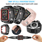 For Apple Watch Silicone Sport Band Strap with Case iwatch Series 3/2 42mm 38mm image
