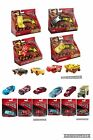 CARS Diecast Metal Vehicle Crazy 8 Crashers Characters Bag Basket Toys Gift Set