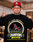 St. Louis Cardinals 2019 NL Central Division Champions T-Shirt October Reign on Ebay