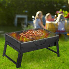 S/L Charcoal BBQ Barbecue Grill Folding Cooking Stove Garden Camping Outdoor UK