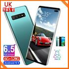 S10+ 6.5'' Android 9.1 4g Smart Mobile Phone Double-sided Curved Screen 6+128gb