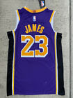 LeBron James Los Angeles Lakers Swingman Basketball PURPLE Men's or Youth Jersey on eBay