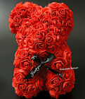 Kyпить GIFTS RED ROSE BEAR 9 INCH BIRTHDAY MOTHER'S DAY ARTIFICIAL ROSE FLOWER ROMANTIC на еВаy.соm