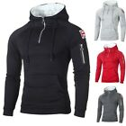 Kyпить Herren Fleece Pullover Sweatshirt Winter Warm Hoodies Pulli Mantel Jacke Sweater на еВаy.соm