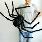 150CM Hairy Giant Spider Decoration Halloween Prop Haunted House Party Decor US