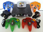 Kyпить N64 Nintendo 64 Console w/ New Controllers + Mario Kart Game + All Hookups   на еВаy.соm