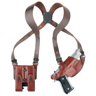 Aker H101BPRU-MP4045 Black RH Comfort-Flex Shoulder Holster Rig S&W M&P .40