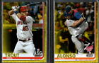 2019 Topps Update Walgreens Yellow Parallel w/ Rookie RC - You Pick From A List