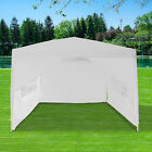 3x3m Pop Up Gazebo Waterproof Marquee Canopy Outdoor Garden Party Wedding Tent