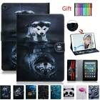 For Amazon Kindle 10th Fire 7 HD 8/10 Case Magnetic Leather Wallet Stand Cover