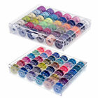 Bobbins & Sewing Thread & Case For Brother Singer Babylock Janome USA