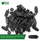 Greenhouse Bubble Insulation and Shade Plastic Secure Press Fixing Clips