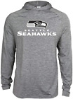 Zubaz NFL Football Men's Seattle Seahawks Tonal Gray Lightweight Hoodie $34.99 USD on eBay