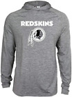 Zubaz NFL Football Men's Washington Redskins Tonal Gray Lightweight Hoodie $34.99 USD on eBay