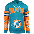 Forever Collectibles NFL Men's Miami Dolphins Big Logo Hooded Sweater $34.95 USD on eBay