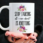 Funny Knitting Coffee Mug For The Obsessed Yarn Lover In Your Life